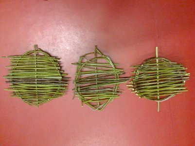 environmental art - willow weaving